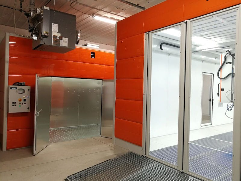 NCR Symach Spraybooth