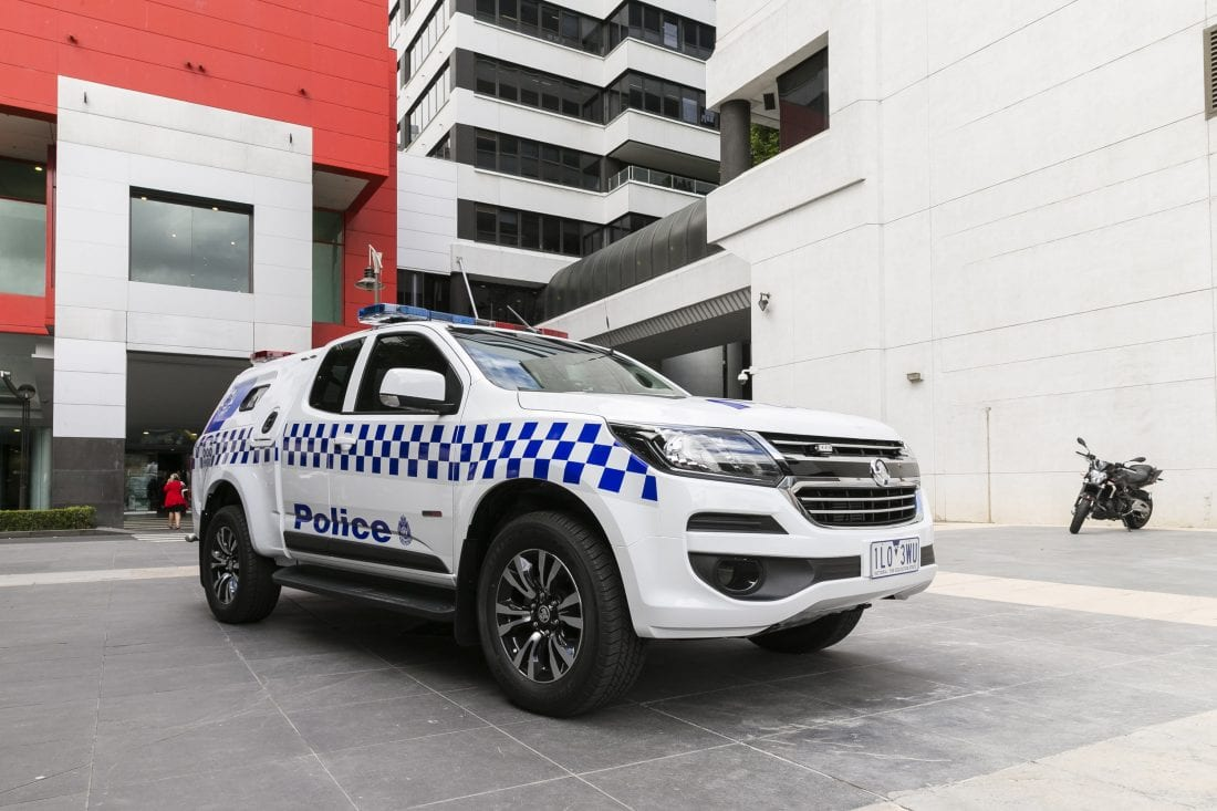 NCR Holden Victoria Police