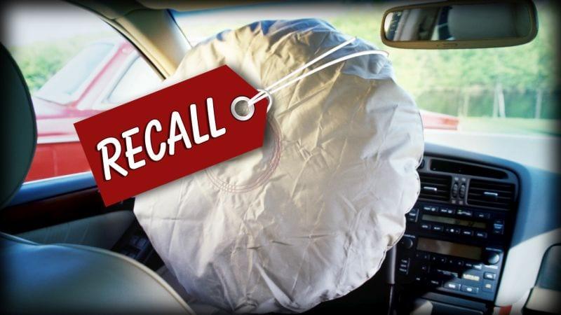 NCR Takata Airbag