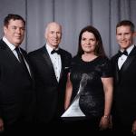 NCR BASF's Teressa Szelest accepts the Award