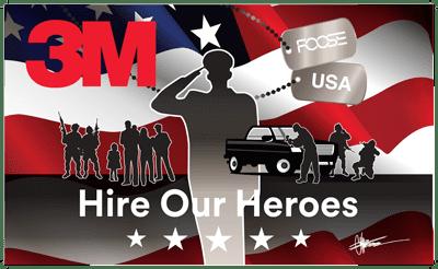 NCR 3M heroes