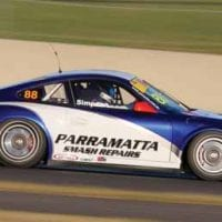NCR Parramatta Smash Repairs racing car