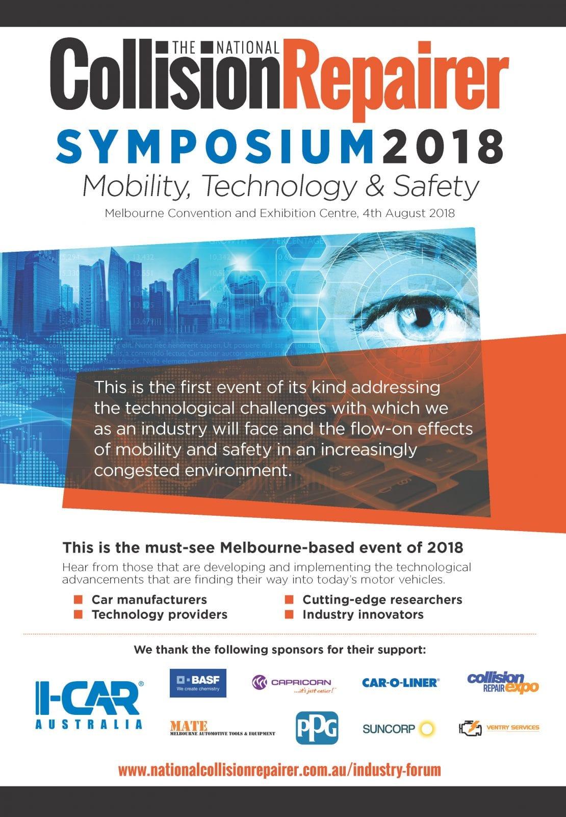 NCR Symposium Advert