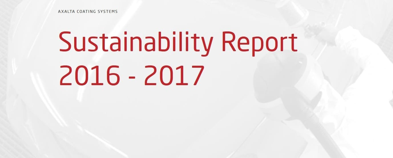 NCR Axalta Sustainability Report