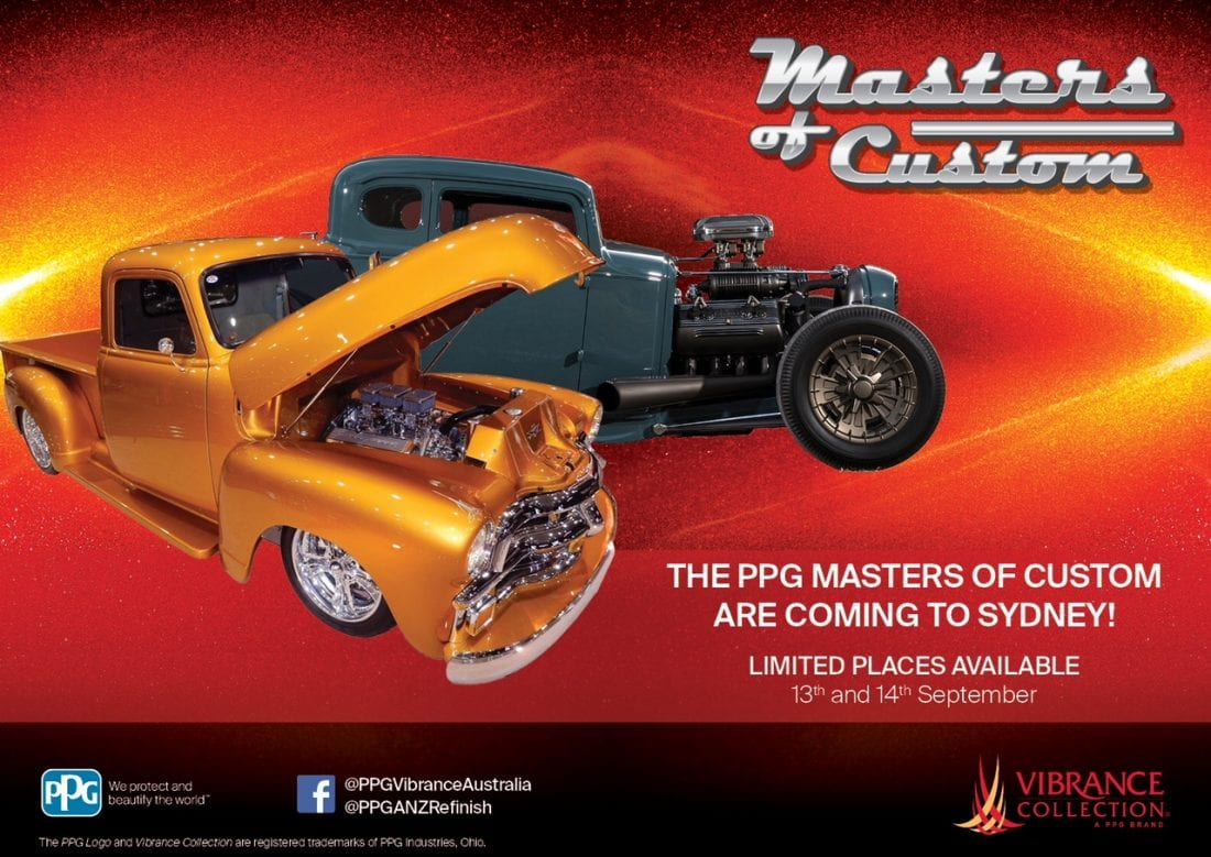 NCR PPG Masters of Custom