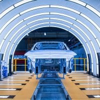 NCR BASF electic car coating