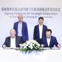 NCR Daimler and Baidu