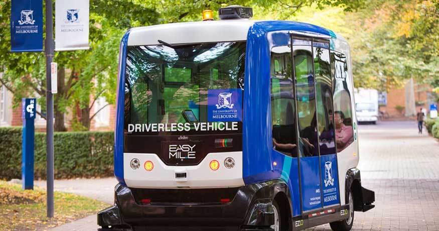NCR EZ10-driverless-shuttle