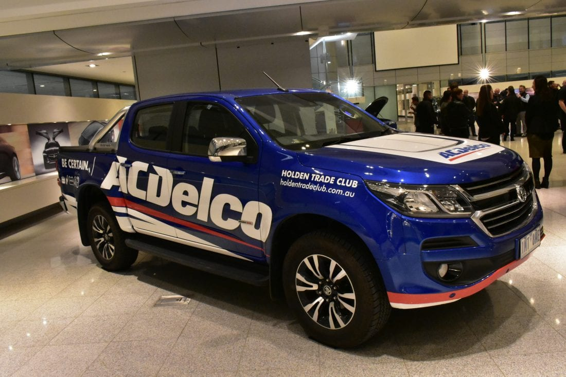 NCR Holden Colorado ACDelco