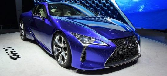 NCR Lexus hybrid coupe