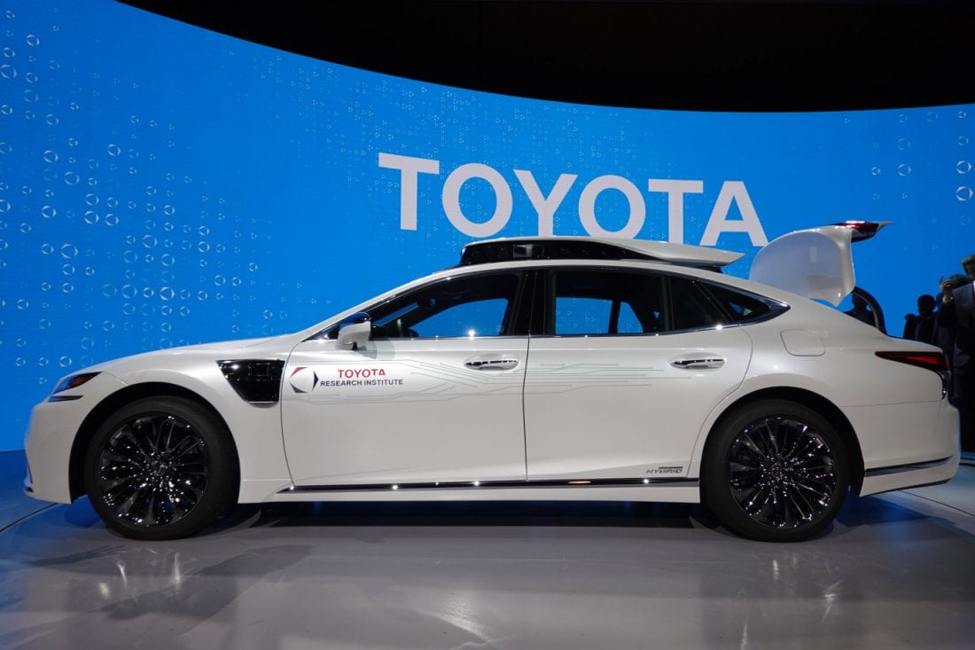NCR Toyota Mobility