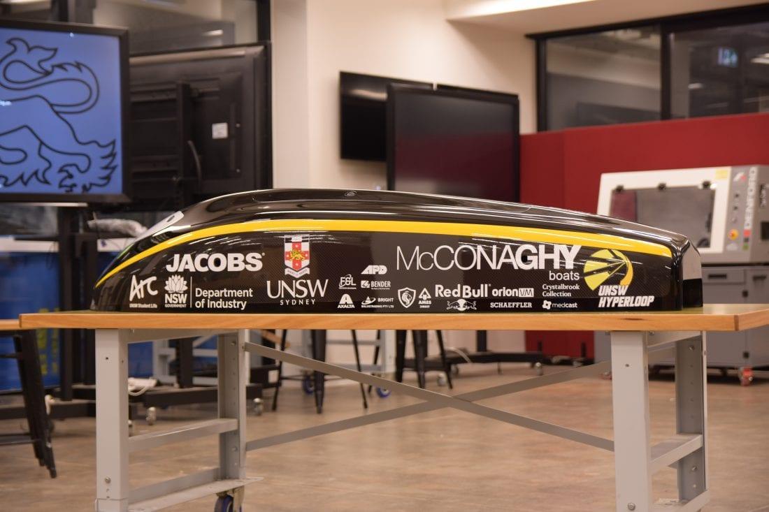 NCR Axalta Hyperloop