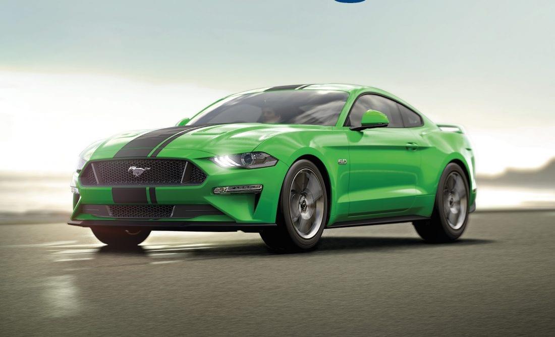 NCR Mustang