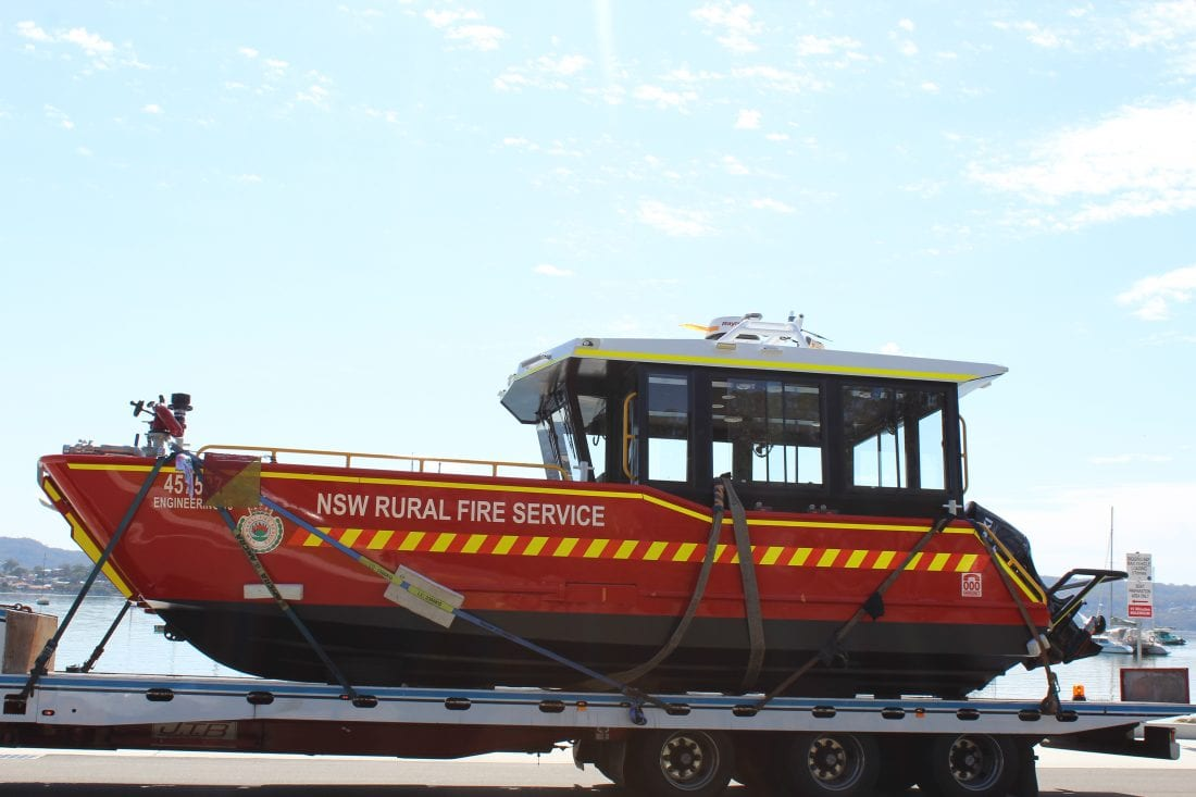 NCR Axalta Fire Boat