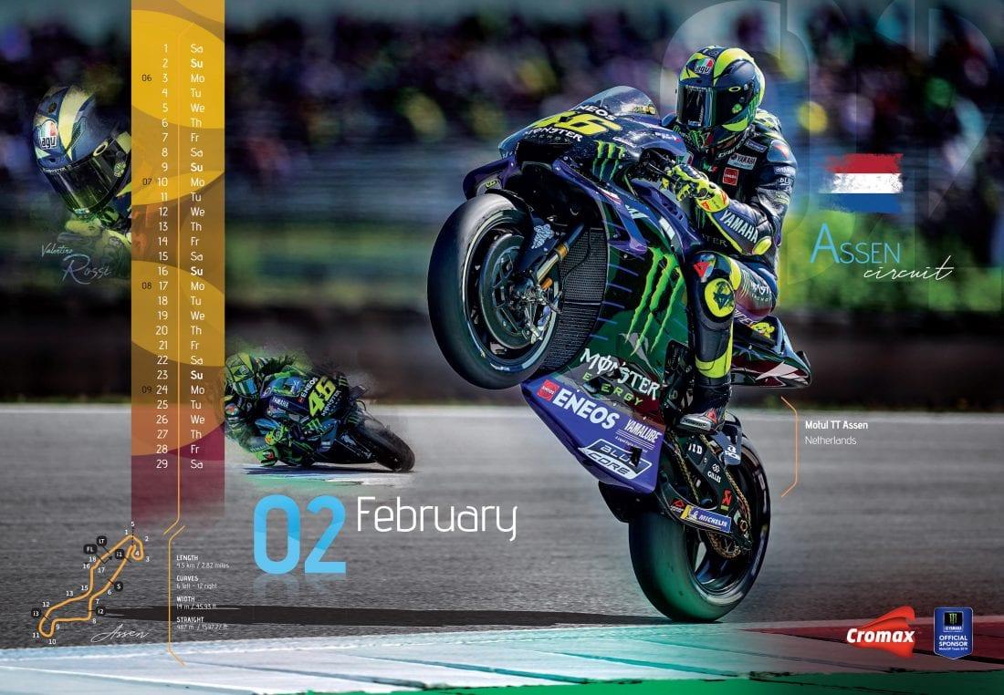 NCR Cromax Calendar