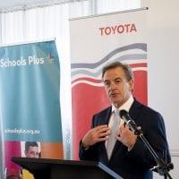 NCR 2019 Toyota Australia Scholarship presentation event.