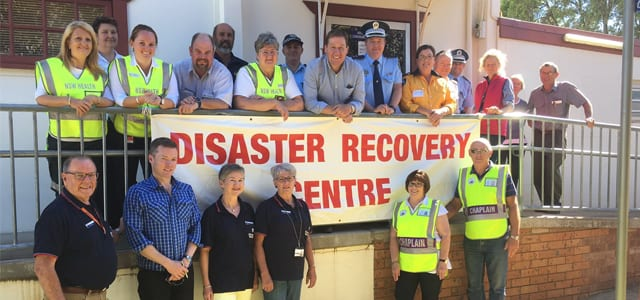 NCR bushfire recovery centre