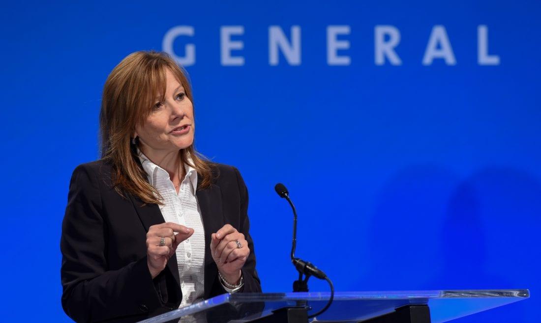 NCR GM CEO Mary Barra