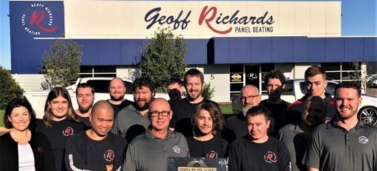 I-CAR GC for Geoff Richards