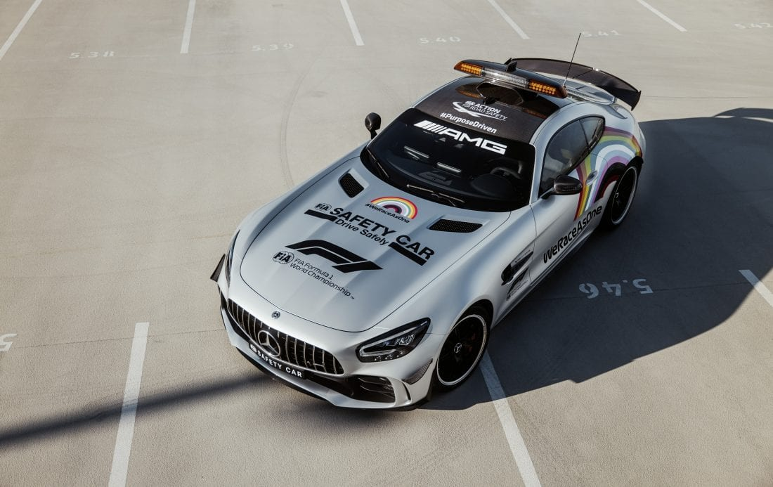 NCR Mercedes-AMG GT R Official FIA F1 Safety Car