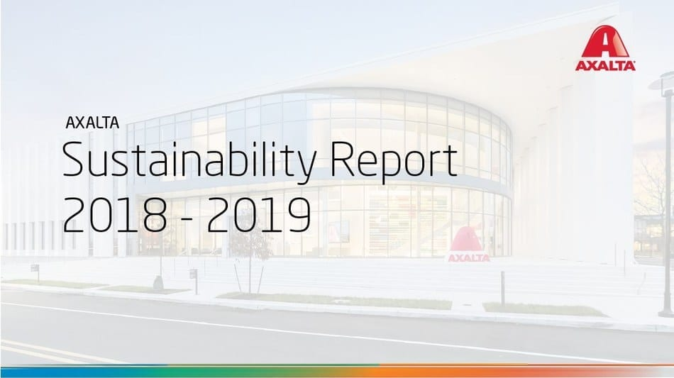 Axalta Sustainability Report