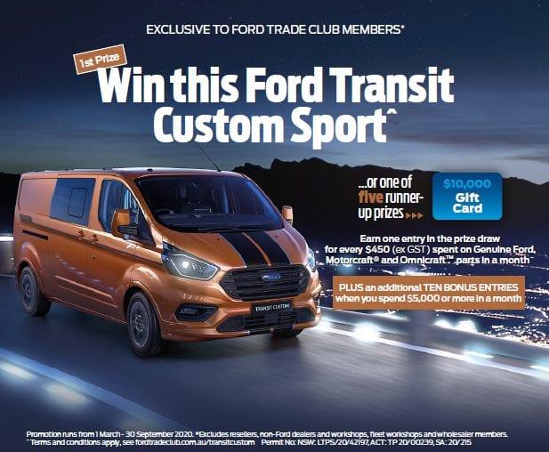 NCR Ford Transit