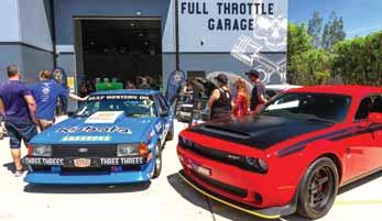Full Throttle garage open