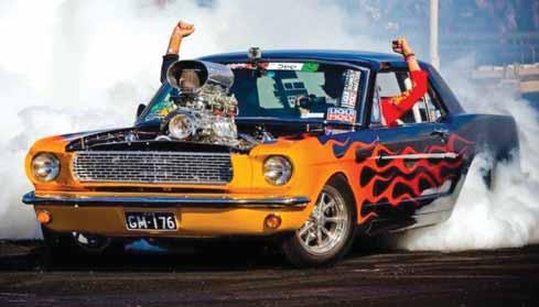 Gary Myers Black 66 Mustang