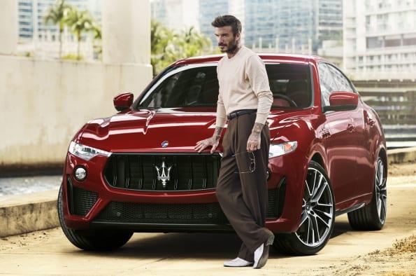 NCR David Beckham Maserati