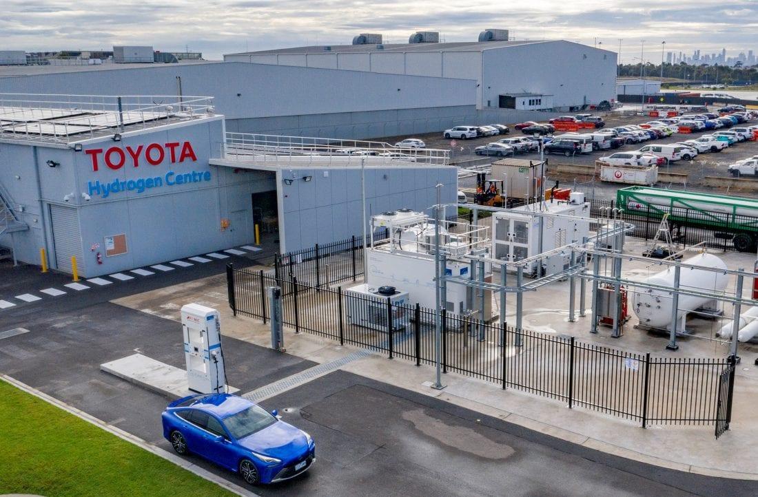 NCR Toyota Hydrogen