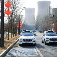 NCR Baidu robotaxis