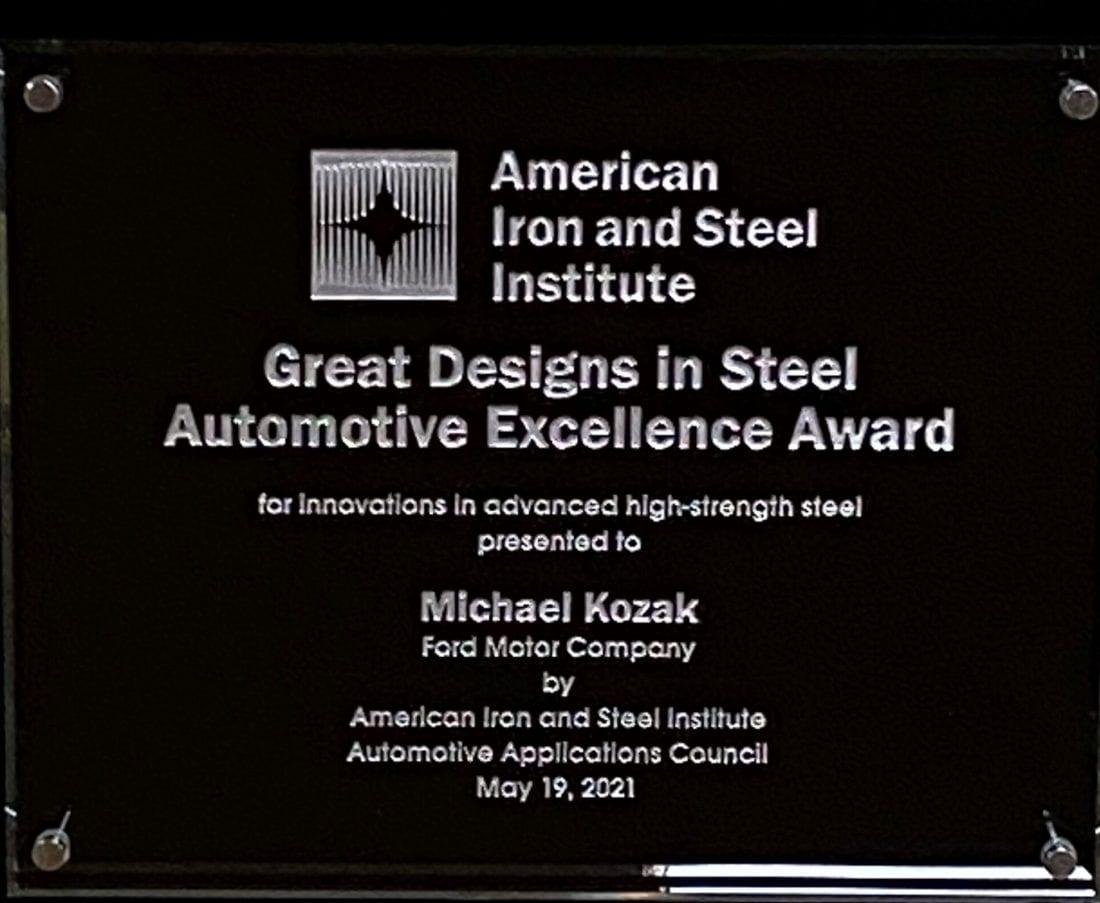 NCR Ford Award
