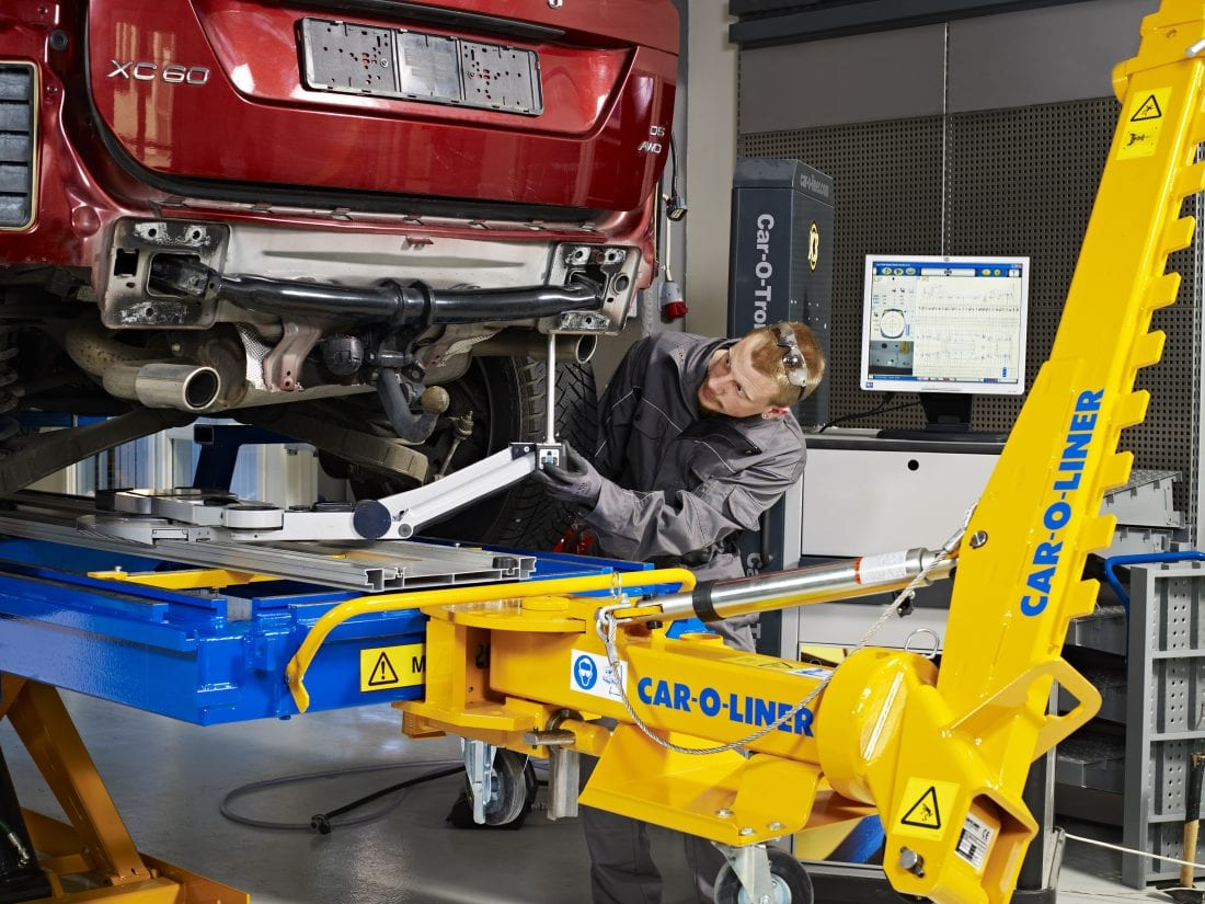 NCR Car O Liner 524-12, Bench Rack
