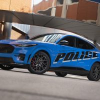 NCR Ford All-Electric Police Pilot Vehicle